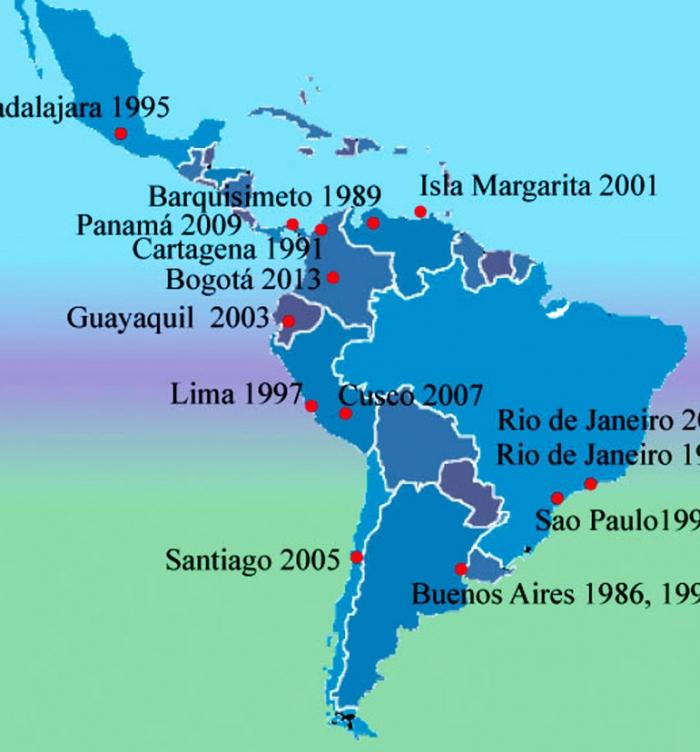 Congresos de la Sociedad Latinoamericana de Rinología y Cirugía Facial